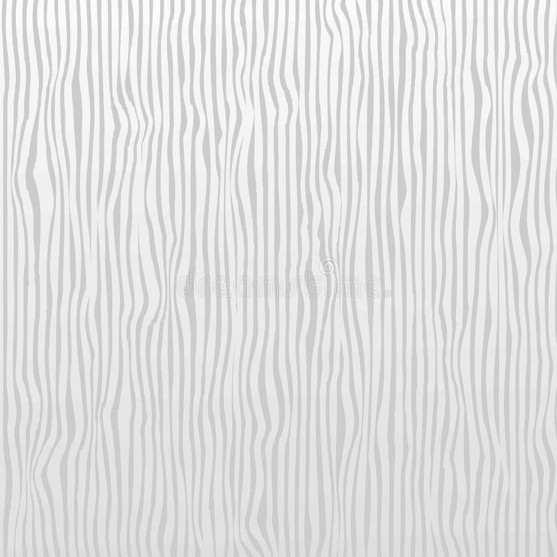White and gray vertical stripes texture pattern seamless for Realistic graphic design material wallpaper background. Wood Grain T stock illustration