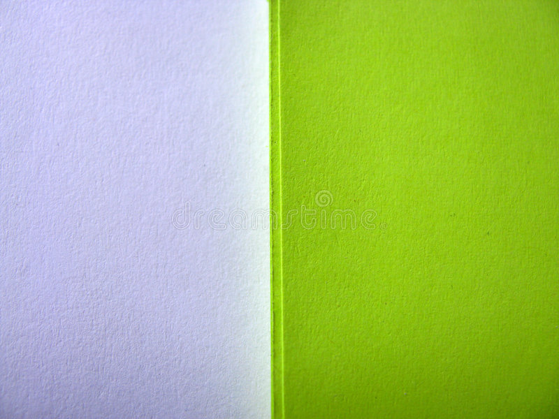 White-green paper background royalty free stock photo