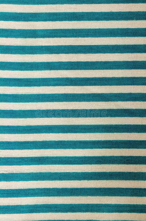 White and green striped texture. White and green striped fabric texture stock photo
