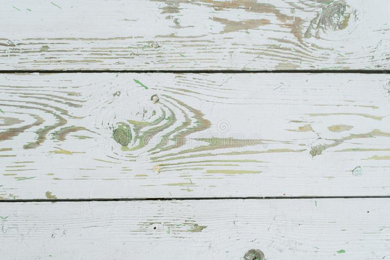 White-green wooden background stock photo