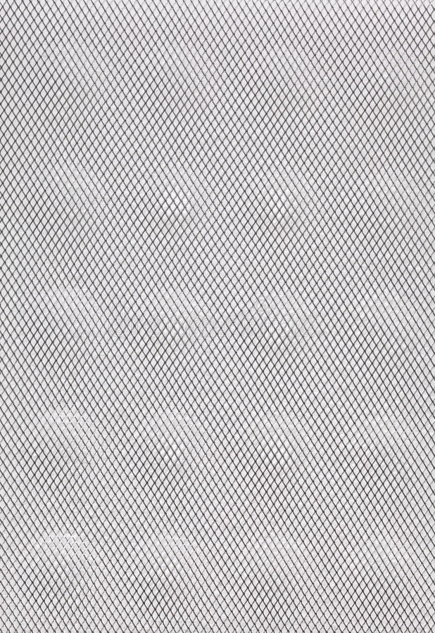 White grey abstract metal grid background stock photography