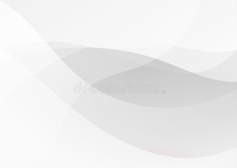 Abstract white black gray color lines background stock illustration