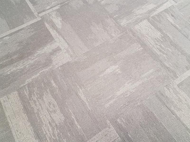 White and grey carpet or rug or background. White and grey carpet or rug or textile or background stock photo