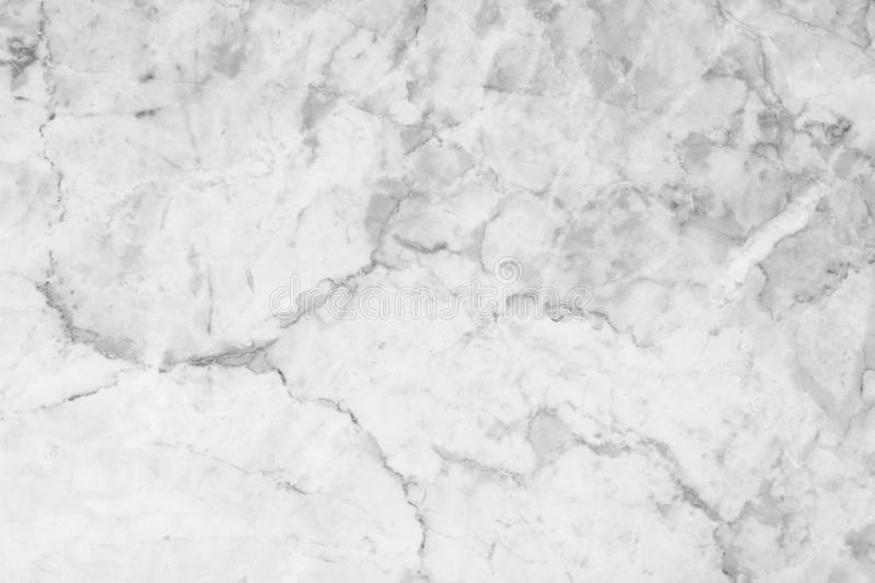 White marble texture with natural pattern for background stock photo