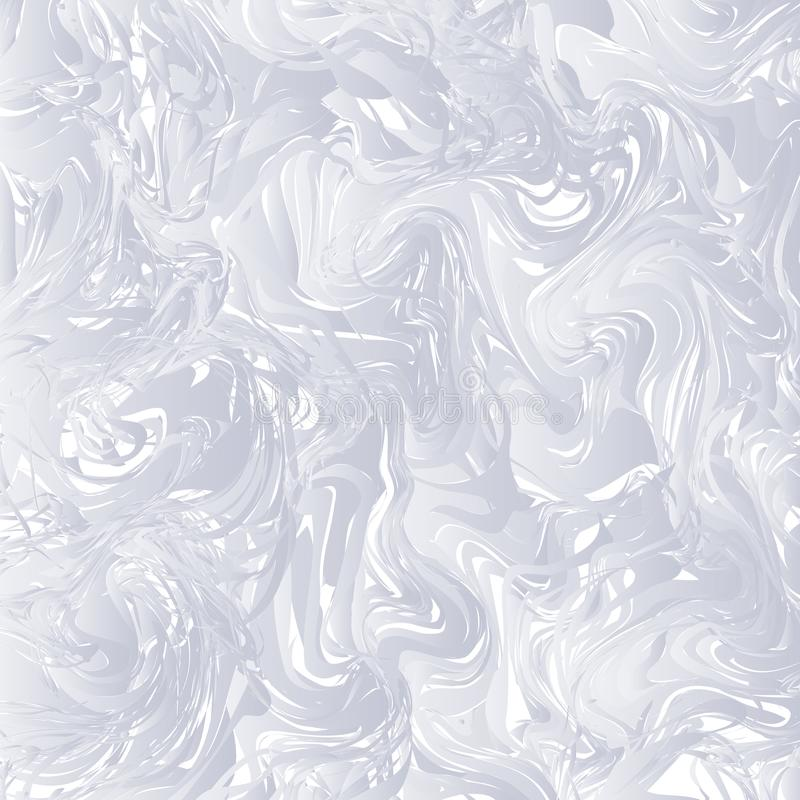 White and grey Marble texture background. Monochrome marbling te royalty free illustration