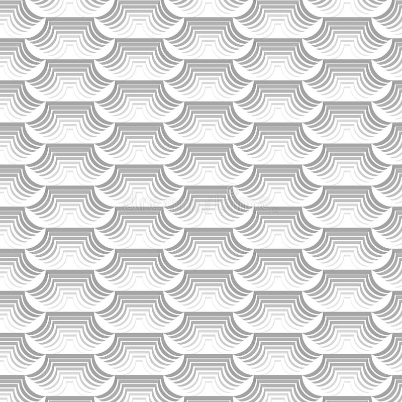 White and grey modern repeating pattern and abstract background vector illustration