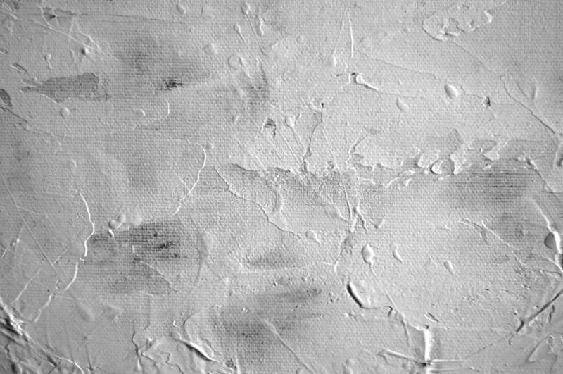 White and grey painting brush strokes texture for art backgrounds vector illustration