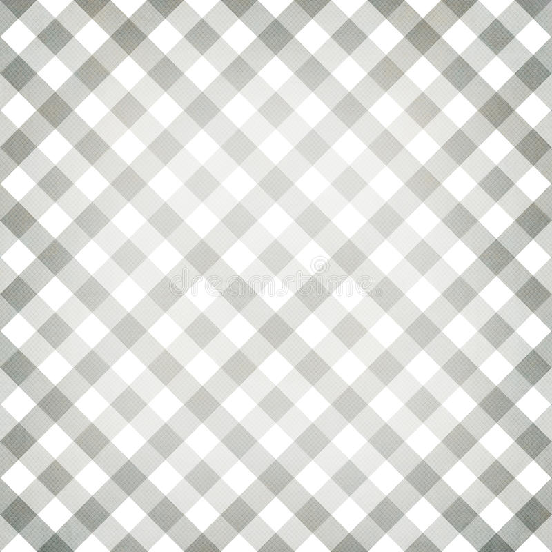 White - grey texture. Gingham cloth background vector illustration
