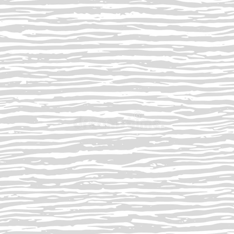 White and grey wavy chaotic lines texture. Abstract pattern for. Your design. Vector illustration. Wooden Texture vector illustration