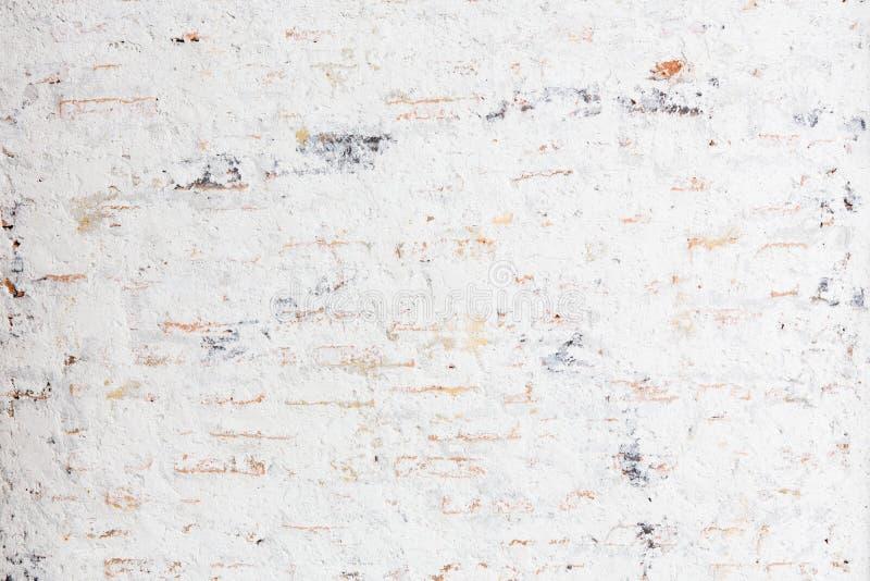 White grunge brick wall stock images