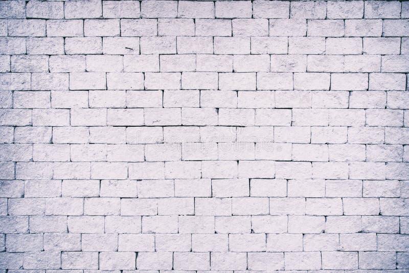White grunge brick wall background royalty free stock photos