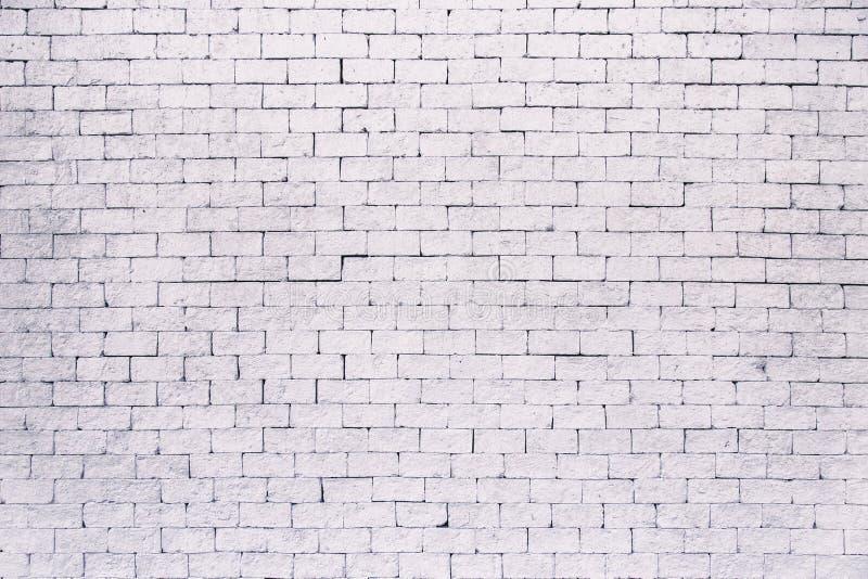 White grunge brick wall background royalty free stock image