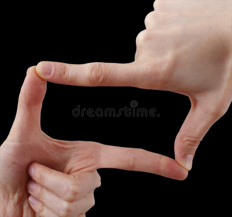 Free White Hand On Black Royalty Free Stock Image - 38127696