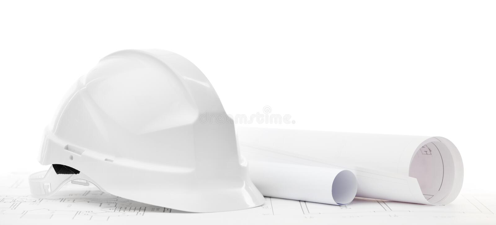 Tools & Construction: Plastic Safety Googles Stock Photo