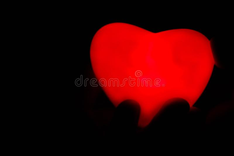 Specially prepared heart for Valentine`s Day stock photo
