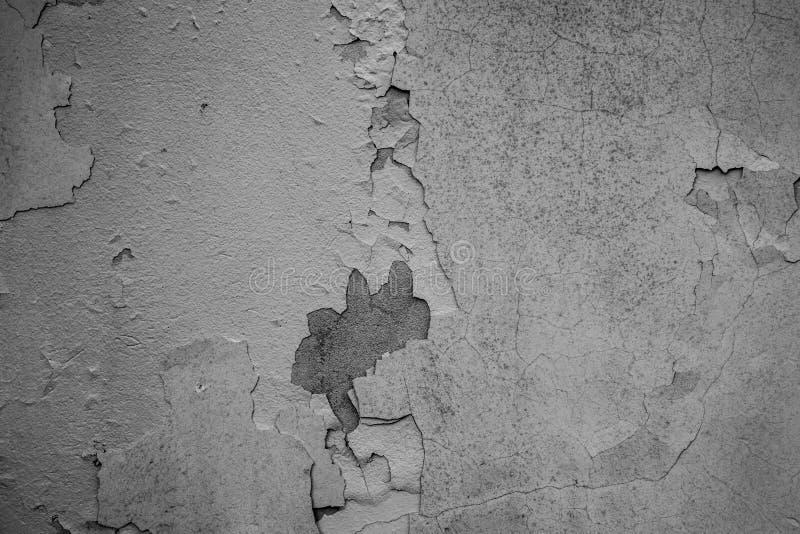 White Horizontal Wall Texture. Urban White Wash Old Brick Wall B stock images