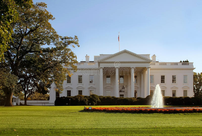 Download The White House stock photo. Image of lawn, building - 11606752