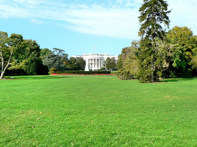 Download The White House Royalty Free Stock Photography - Image: 1418457