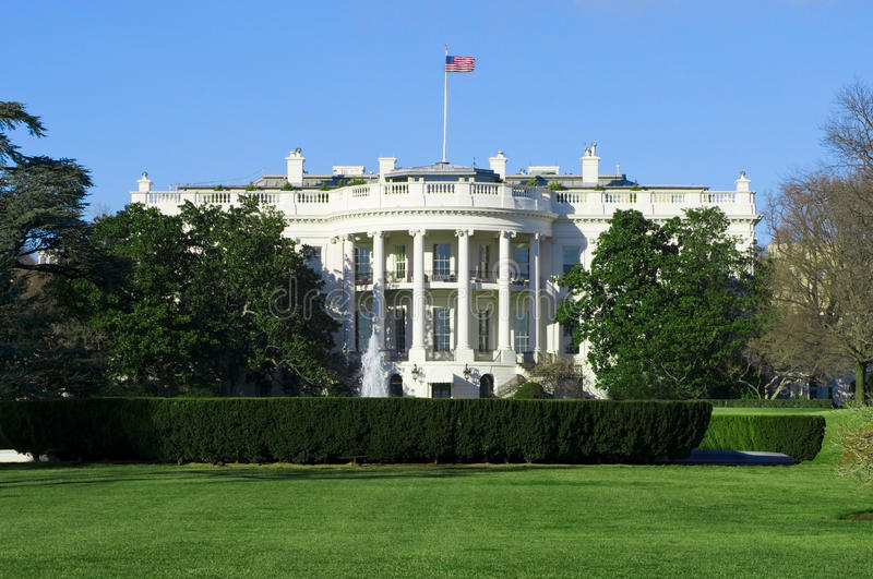 White House stock image