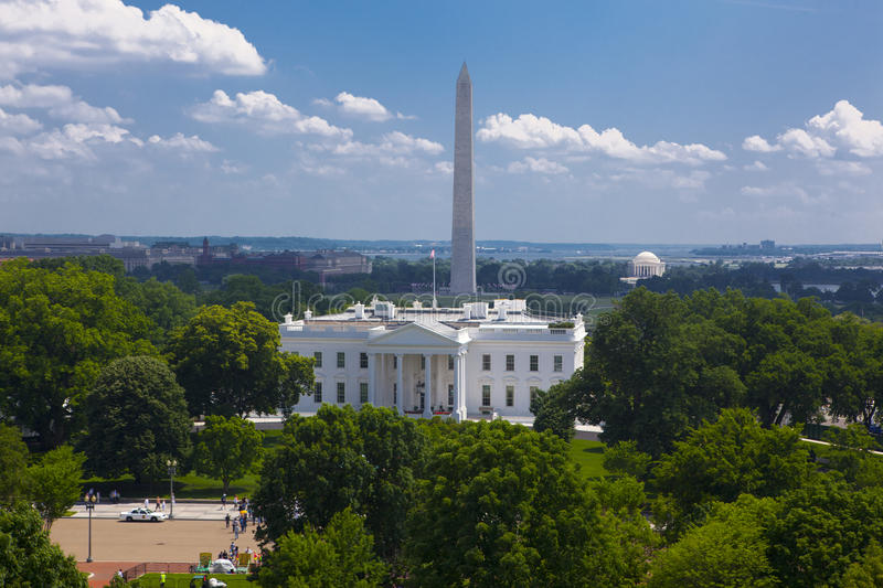 Download The White House stock photo. Image of exterior, american - 20640660
