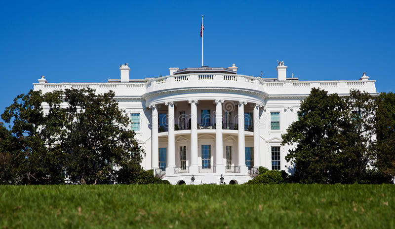 The White House royalty free stock images