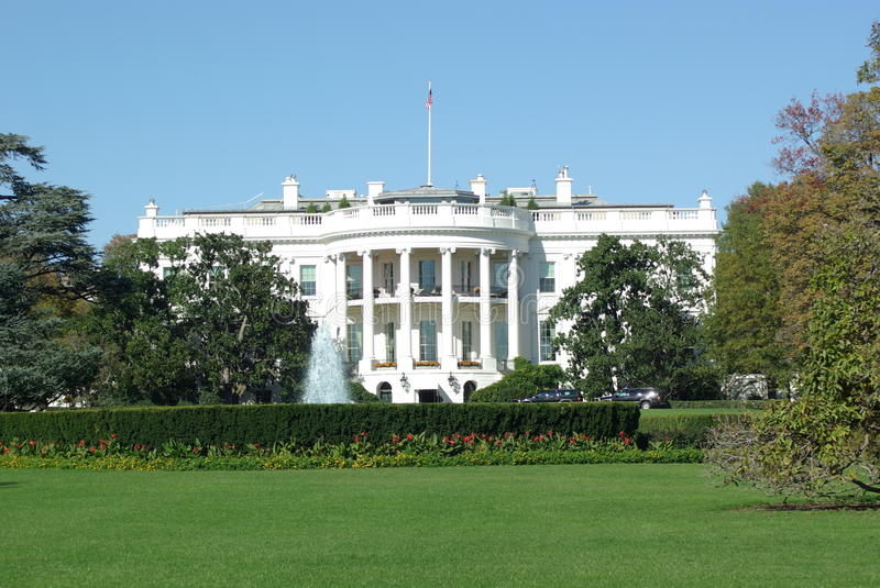 Download White House building stock photo. Image of lawn, scenery - 22174012
