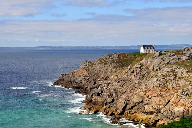 Download WHITE HOUSE ON THE CLIFF, FRANCE Stock Photo - Image: 33022758