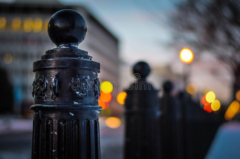 White House Column Closeup royalty free stock image