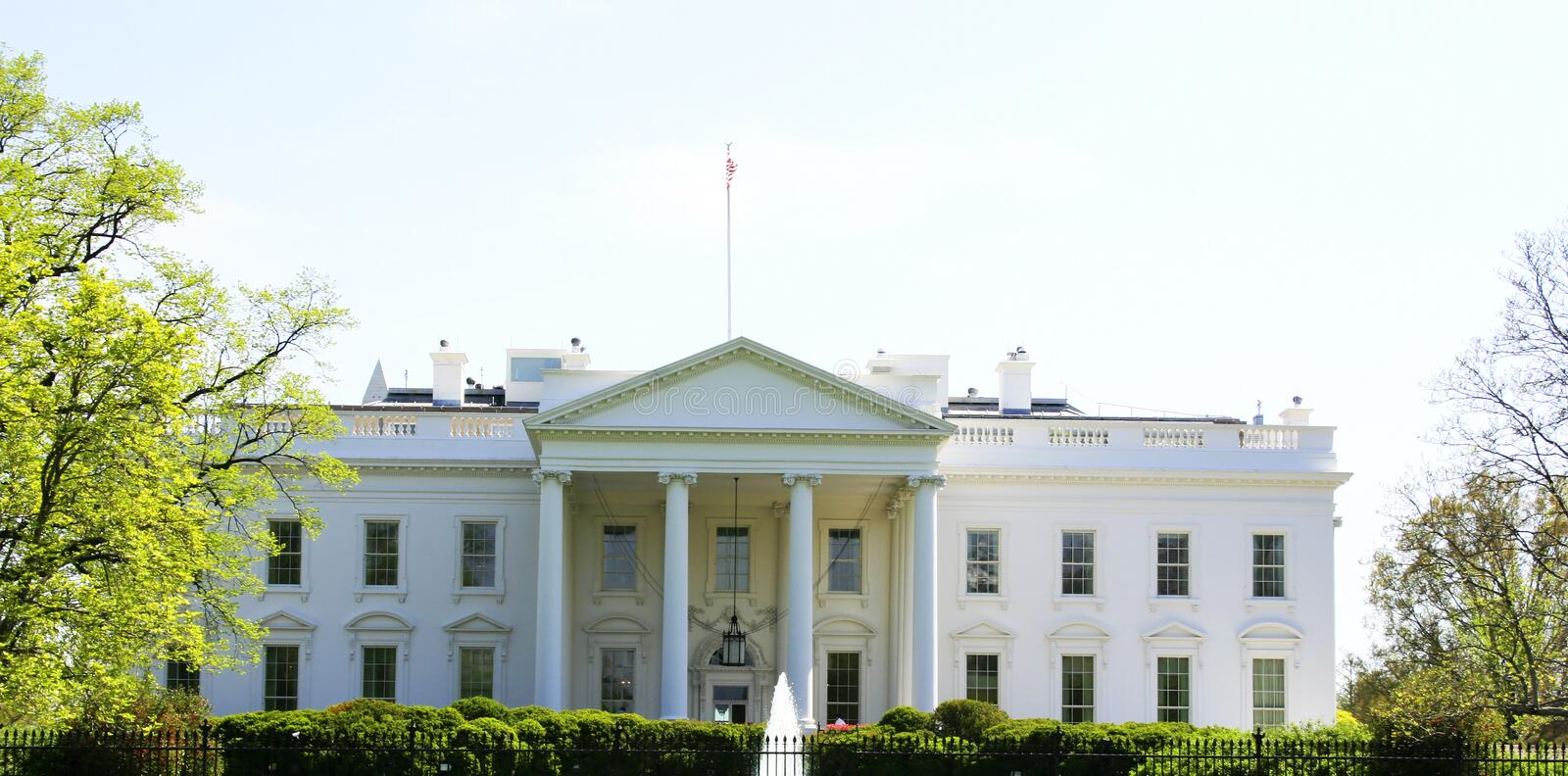 Download White house facade stock image. Image of freeze, patriotic - 4440405