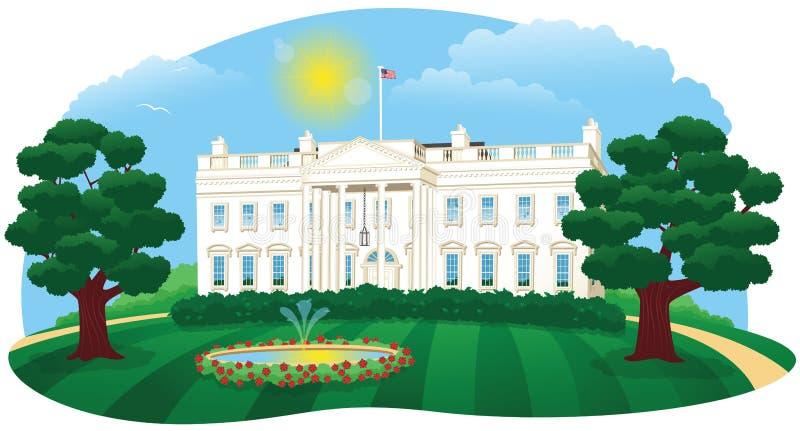 The White House stock illustration
