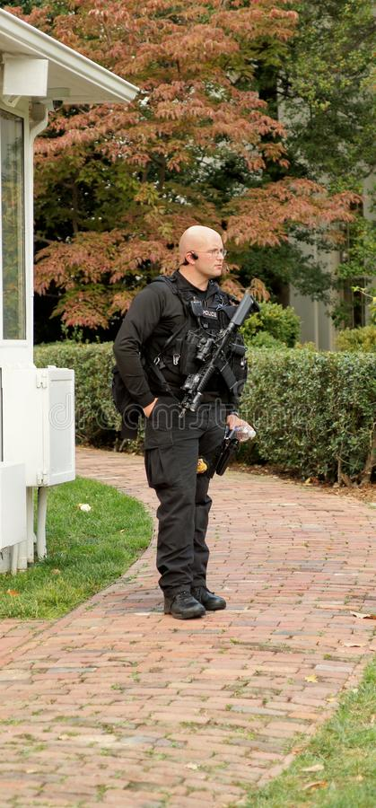 Download White House Police editorial stock image. Image of security - 28505274
