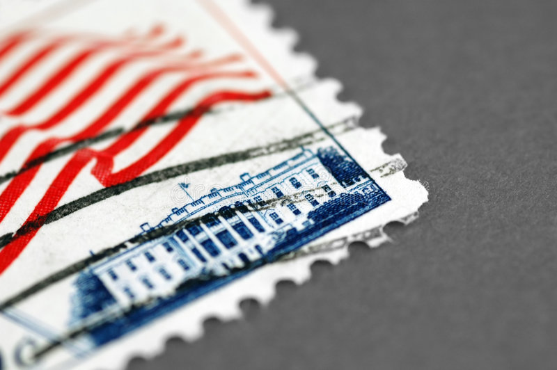 White House postage royalty free stock photography