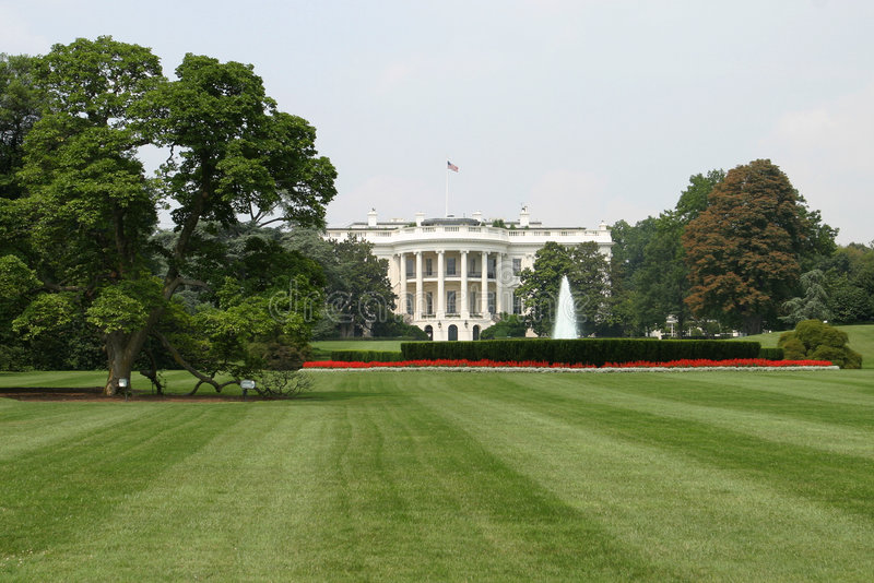 The White House, Rear royalty free stock image