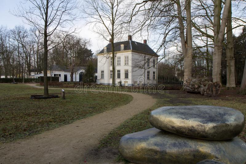 White House in the south of the Netherlands. stock images