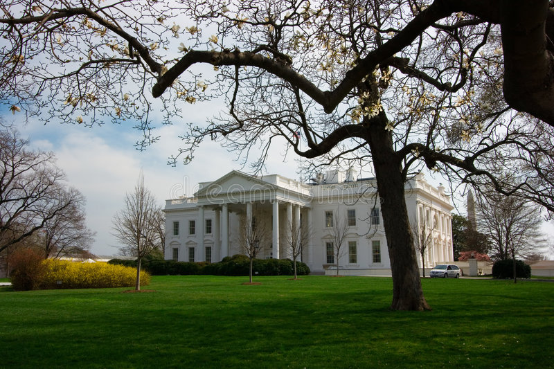 Download The White House In Spring Royalty Free Stock Photo - Image: 2177855