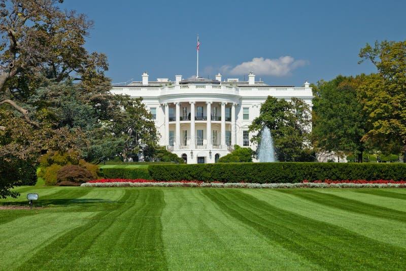 White House, Washington D.C. The White House in Washington D.C., the South Gate royalty free stock photos