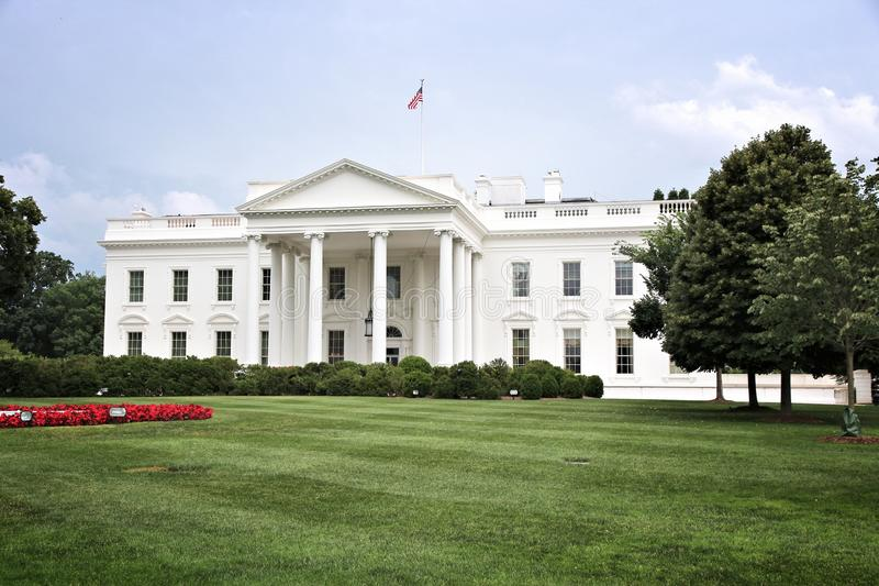 Washington White House. White House in Washington D.C. United States national landmark stock photography
