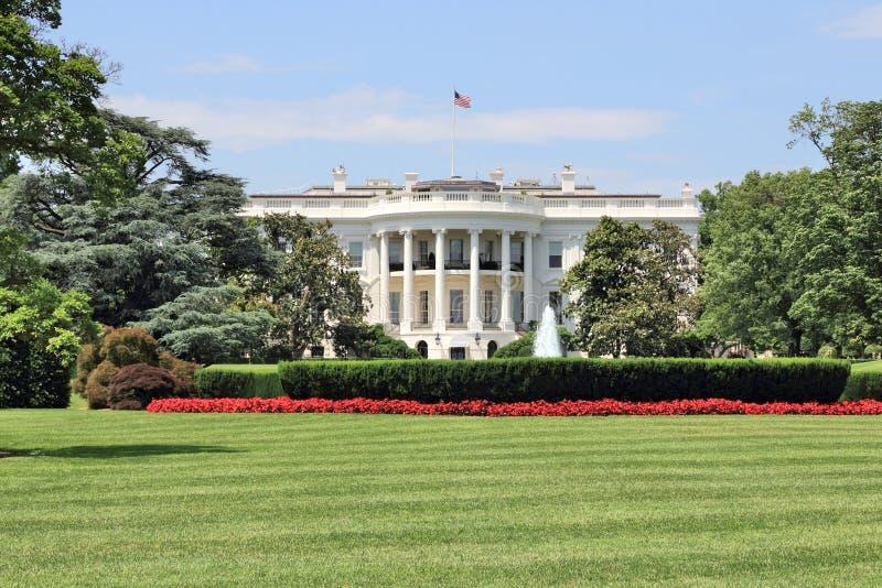 White House USA. White House in Washington D.C. United States national landmark stock photo