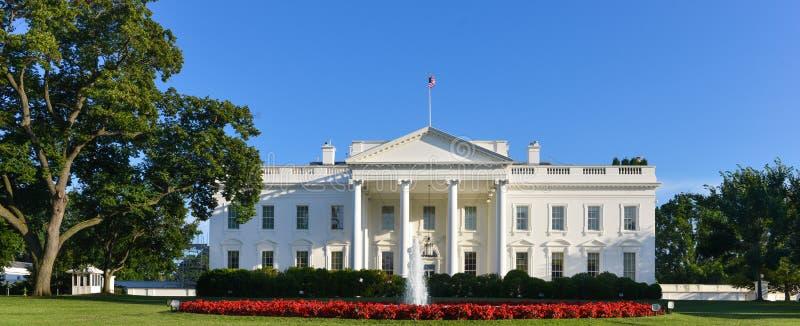The White House - Washington DC, United States. The White House in a clear day - Washington DC, United States stock photo