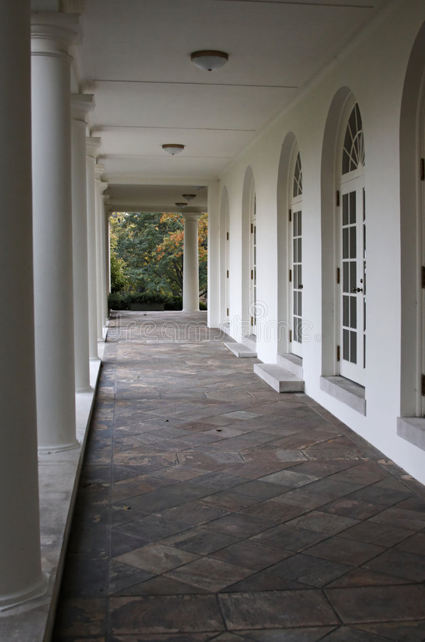 White House West Wing royalty free stock photography