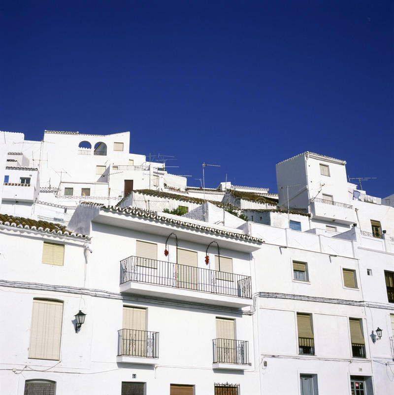 Download White houses stock image. Image of white, europe, siesta - 19405653
