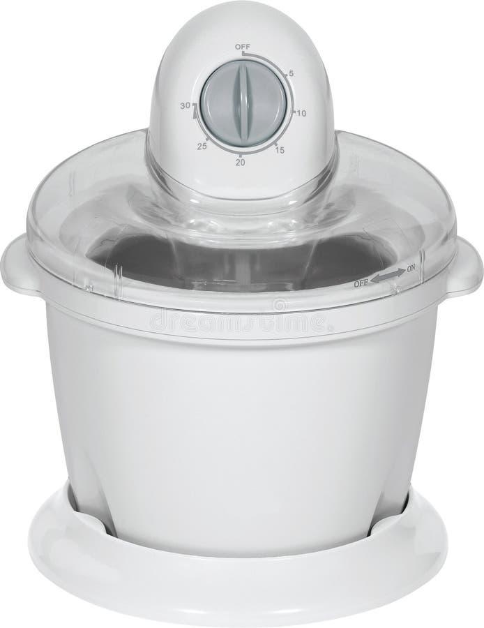 Free White Ice Cream Maker Stock Photos - 22028683