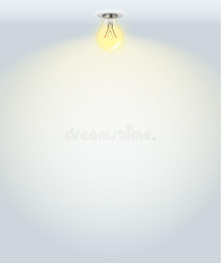 Download White illuminated wall stock vector. Illustration of background - 22103832
