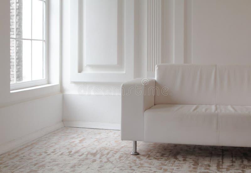 White interior royalty free stock photography