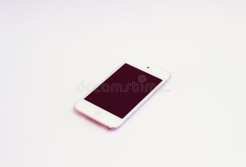 White Ipod Touch stock photos