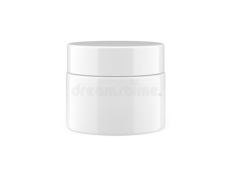 Download White jar stock illustration. Image of black, isolated - 28229320