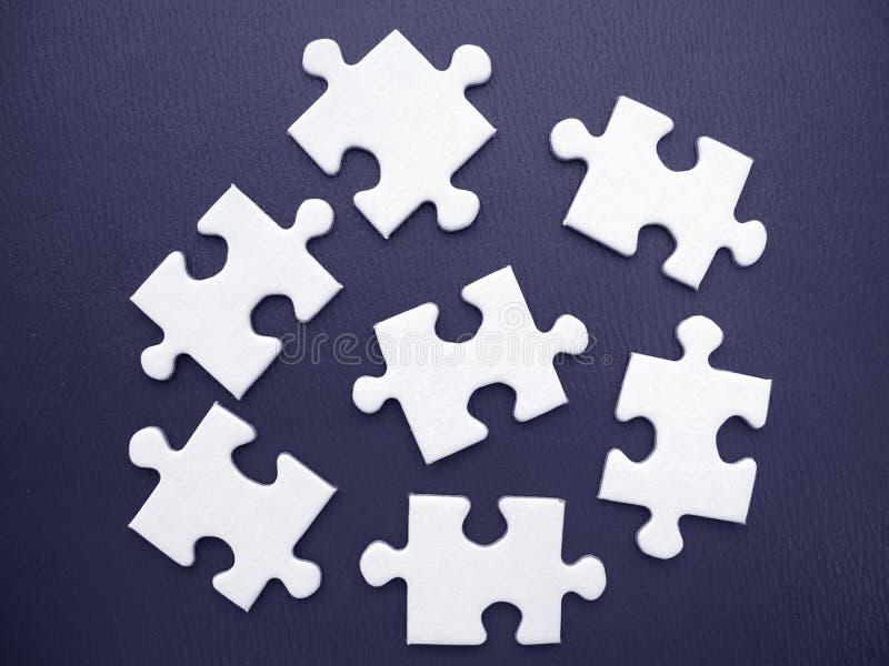 Download White jigsaw stock illustration. Image of children, business - 449674