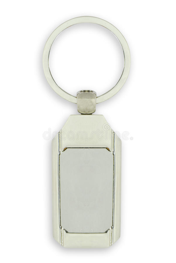 Download White Key Chain As A Frame With Space For Text Stock Illustration - Image: 25242687