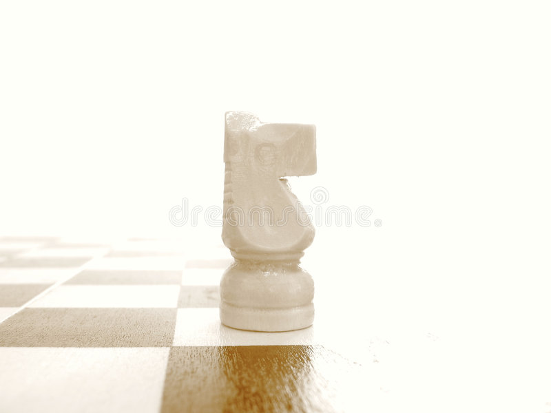 Download White Knight 1 stock photo. Image of pawn, chess, bishop - 2316210