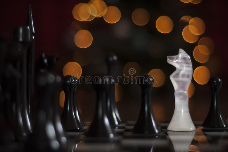 White knight royalty free stock image